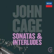 JOHN CAGE - SONATAS & INTERLUDES - JOHN TILBURY - 2012 - CD NEUF