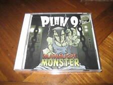 PLAN 9 - Manmade Monster CD - Hard Death Rock Punk - rare