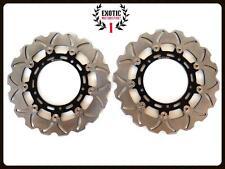 Front & Rear Brake Disc Rotors Set For Yamaha R1 R6  Wave Rotors