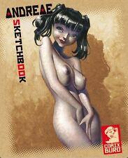 ANDREAE Sketchbook #1 (Wendigo,Azimut, Mangecoeur) signed+limited Edition 900 Ex