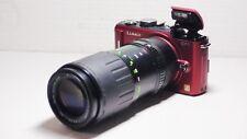 70-210mm= lens 140-420mm on Panasonic G lumix HD Micro Digital SLR G7 GH2 PEN G6