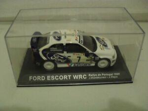 IXO.   FORD ESCORT WRC  ., Rally car.1/43. Diecast model ISSUE 62 - DEAGOSTINI