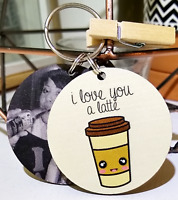 Lovers Gift Keyring - I Love You Couple Boyfriends Girlfriends Christmas Present