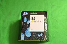 HP 85  Yellow Original Ink c9427a  Designjet 30 90 130 Date 2013