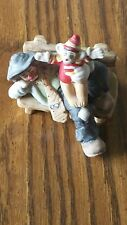 Vintage Emmett Kelly Jr. Flambro Porcelain Hobo Clown Figure