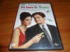For Love or Money (DVD, Widescreen 2003) Michael J. Fox, Gabrielle Anwar Used