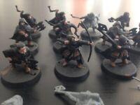 20 Nani esploratori Dwarft Lord of the Rings