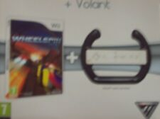 pa JEU Wheelspin + Volant wii -