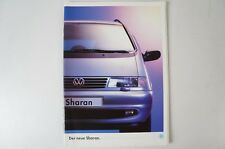 VW Der neue Sharan Juni 1995 Prospekt B4082