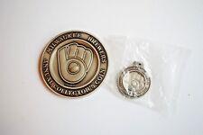 Milwaukee Brewers Annual Collector's Coins PAUL MOLILTOR 1986 w/bonus key chain