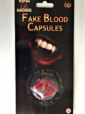FAKE BLOOD CAPSULES - Very Realistic For Fancy Dress Halloween Same Day Despatch