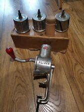 More details for original vintage spong's no 630 slicer, grater & shredder