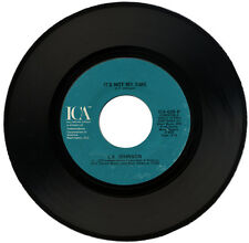 "L.V. JOHNSON  ""IT'S NOT MY TIME c/w LET YOURSELF GO""  70's SOUL    LISTEN!"