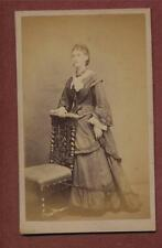 London. High Holborn. W Bates. Lady  no.21803 Victorian CDV  photograph qe327