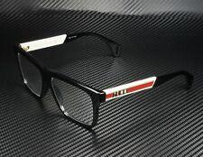 GUCCI GG0464O 005 Rectangular Square Black Demo Lens 56 mm Men's Eyeglasses