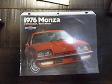 1976 Chevrolet Monza Brochure 76 Chevy