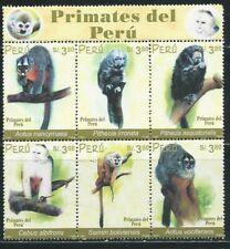 Peru  Mi.-Nr. 1830-1835 Zusammendruck  postfrisch ** (MNH)