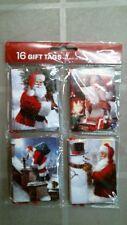 Rachael Hale 921711 Santa Claus Christmas Gift Tags, 16ct. Free Shipping