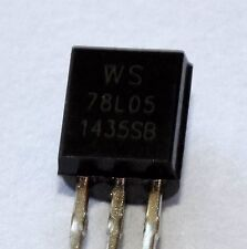 PACK OF 25 78L05 5 VOLT 100mA LOW POWER VOLTAGE REGULATORS TO92 PACKAGE