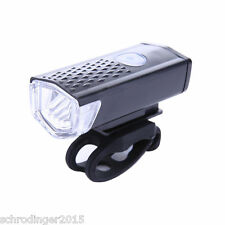 Schrödinger10019 RAYPAL USB LED Rechargeable Bike Front Light Cycling Bicycle