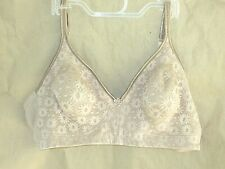 NWOT Warners W4017 Blissful Benefits Natural Shaping Lace Bra; Size: 40C; Color: