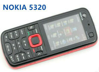 Nokia 5320 Xpress Music 3G Original Unlocked 2MP Camera mobile (red)