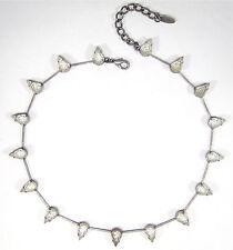 Modeschmuck-Halsketten & -Anhänger im Collier-Stil aus Glas mit Tropfen