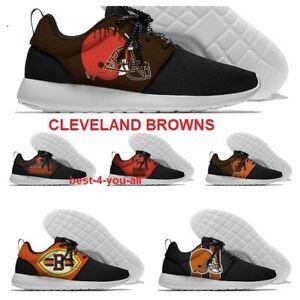 CLEVELAND BROWNS Lightweight Shoes Men's Women's Sneakers Football Team Fans NEW