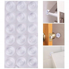 18Pack Door Knob Bumpers Self-Adhesive Door Stopper Wall Protectors  Rubber Feet