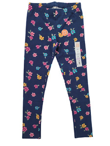 Jumping Beans Girls Tough Cotton Leggings Floral Size 6X