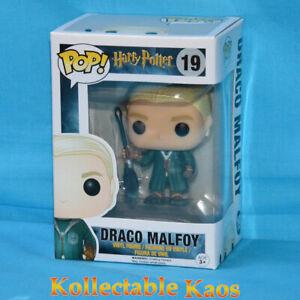 Harry Potter - Draco Malfoy Quidditch Pop! Vinyl Figure #19 + protector