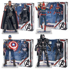 "Avengers Endgame Marvel Captain America Thor War Machine 7"" Action Figure Boxed"