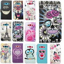 Wallet Leather Cover Card Holder Flip Case Skin Stand for Samsung S6 Edge S5 S4