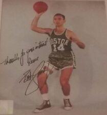 bob cousy signed 8x10 autographed photo nba hof auto boston celtics hall of  fame c079375d5