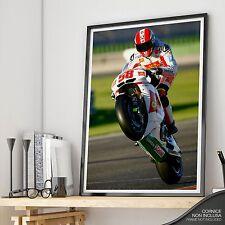 Marco Simoncelli SUPERSIC -MAXI Poster Fotografico - fino a 70x100 alta qualità