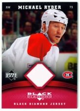 "MICHAEL RYDER ""RUBY JERSEY CARD /100"" BLACK DIAMOND 06/07"