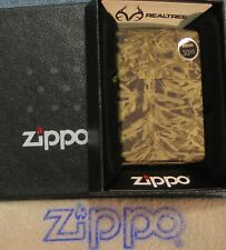 ZIPPO REALTREE  lighter ADVANTAGE MAX 1 New  24072 Different CAMOUFLAGE Mint