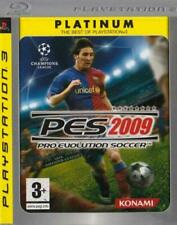 PES Pro Evolution Soccer 2009 Playstation 3 PS3 Platinum Edition *NEW & SEALED*