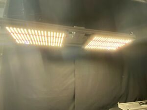 Two Panel FBL 3000K 660NM LED Grow Light Board + Dimmer - Fully Tested - Lot 4