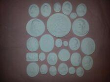 27 Grand Tour Cameos Intaglios Gems Medallions Plaster Tassie Seals Lady Gent
