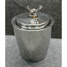 "Mary Jurek Design HLX029 Helyx Double Walled Ice Bucket with Knot Lid, 9"" x 7"""