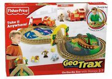 NEW Geotrax On the Go Zoo Train + 2 RARE HTF Handiest & Greenest Teams Playsets