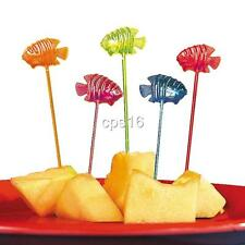 12 Fish Picks...Party Finger Food...Cake Decorations