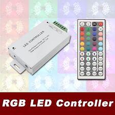 DC 12V - 24V 12A RGB 44 Key IR Remote Controller LED 5050 3528 Strip Light