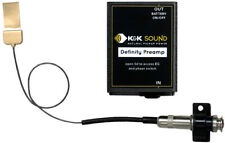 K&K Sound Definity System Pickup w/Preamp for Maccaferri/Floating Bridge Guitars