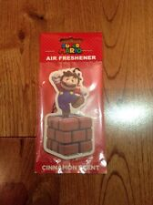 Super Mario Air Freshener Retro Cinnamon Scent Anniversary Rare Cosplay Nintendo