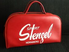 True Vintage NÜRNBERG Sport Stengel Sporttasche 60er 70er Jahre Kunstleder