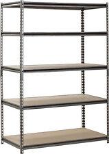 Heavy Duty Steel Shelving Rack for Garage Shop Tools Equipment Supplies Storage