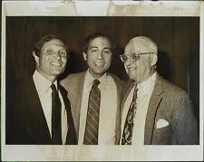 Bill Haber, Brandon Tartikoff, George Christy ORIGINAL PHOTO HOLLYWOOD