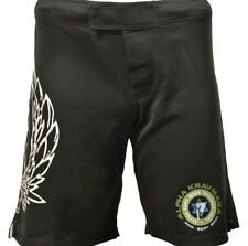Black Alpha Krav Maga New Men's Shorts Size Medium No gi Bjj Kickboxing T104